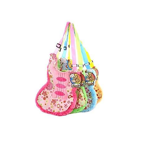 Bavaria-Home-Style-Collection Kinder Shopping Tasche - Einkaufstasche - Schultertasche - Henkeltasche mit Motiv Handtasche - Gitarre - Geschenk Idee Geburtstag Mitbringsel Ostern Weihnachten (blau)