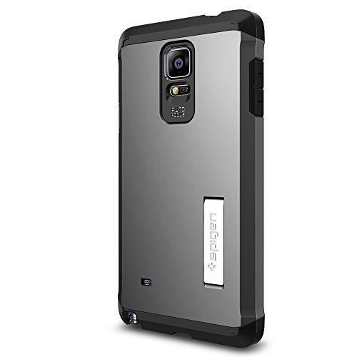 Spigen Tough Armor Designed for Samsung Galaxy Note 4 Case (2014) - Gunmetal