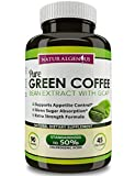 Natural Genius Green Coffee Bean Extract with GCA Fast Weight Loss Supplement 90 Vegetarian Capsules