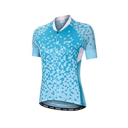 VEBE Women Cycling Jersey Short ...