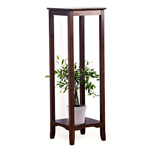 LXD Plant Stands,Home Bamboo Flower Stand Column Side Table Hallway Bedroom Living Room Telephone Table,High 100Cm,High 100Cm
