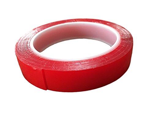 Zelfklevend plakband, 3 m/20 mm breed, 1 mm dik, extra dik, voor het compenseren van stickytape, montageband, handig voor werkplaats, bouw, huishouden, zonder resten te verwijderen.