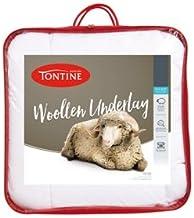 Tontine T6160 All Seasons Woollen Underlay, Single