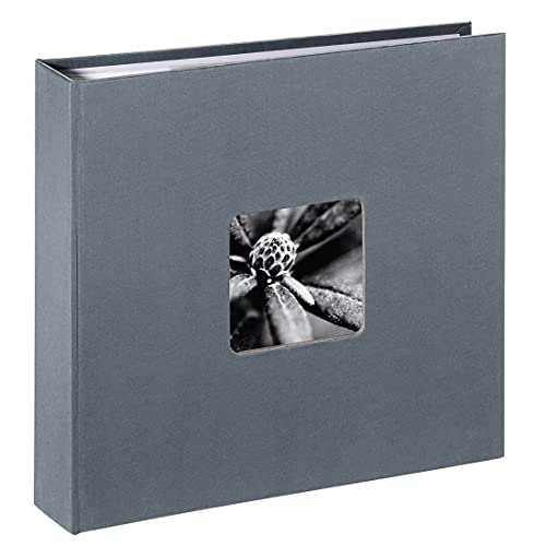Hama Einsteck-/Memoalbum Fine Art, für 160 Fotos in Format 10x15cm, grau