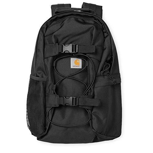 Carhartts Backpack Rucksack Kickflip Tasche Laptoptasche Sporttasche Canvas Rucksack (Schwarz)