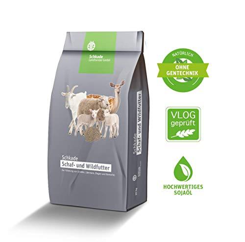 Schkade Landhandel GmbH Ziegenfutter, 25 kg, 3 mm pelletiert, nährstoffreiches Futter für Ziegen
