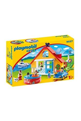 Playmobil- Maison de Vacances, 9527, Coloré