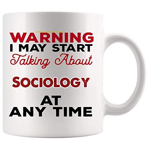 Apropos Soziologie Kaffeetasse Tasse Teebecher Geschenk - Warngespräch zu jeder Zeit Student Sozialberatung Berater Research Analyst Personalberater