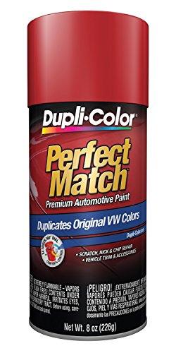 Dupli-Color Paint BVW2037 Dupli-Color Perfect Match Premium Automotive Paint; Tornado Red; Paint Code LY3D; 8 oz. Aerosol;