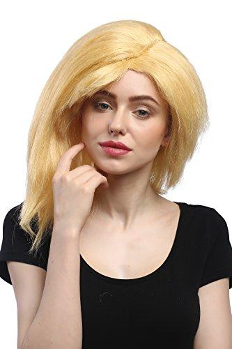 Peluca amarilla para mujeres Halloween