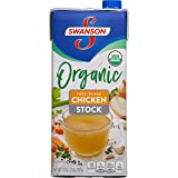 Swanson Organic Free-Range Chicken Stock, 32 oz. Carton