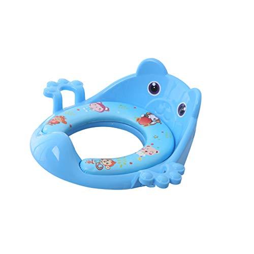 Riduttore WC per Bambini Balena del Fumetto Carino Vasino MultiColore - Blu, come descritto