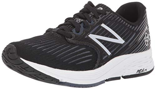 New Balance Women's 890v6 Running Shoe, Grey/Black, 10 D US
