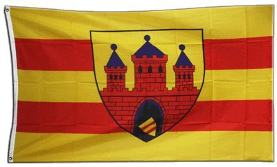 Flaggenfritze Fahne/Flagge Deutschland Stadt Oldenburg + gratis Sticker