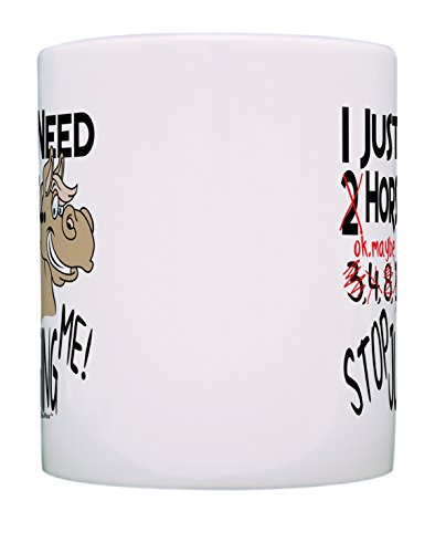 Horse Mug I Just Need Horses Stop Judging Me Horse Themed Gifts Horse Gifts for Women Horse Gifts for Men Pet Lover Gift Coffee Mug Tea Cup White New Hampshire