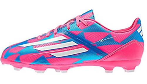 adidas Performance - Botas de fútbol para niño neonpk/runwhi/solblu