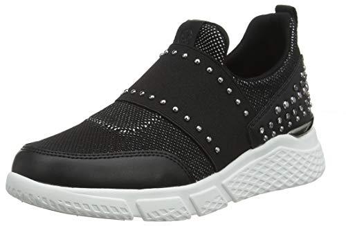 Guess Damen Namastia/Active Lady/Fabric Slip On Sneaker, Schwarz (Black Black), 40 EU