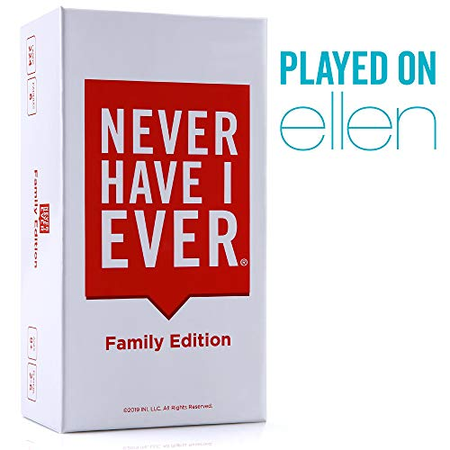 Never Have I Ever | Family Edition Ages 8 | Fun Party Game for The Whole Family  Laugh About Your Past and Relive Your Funny Life Stories