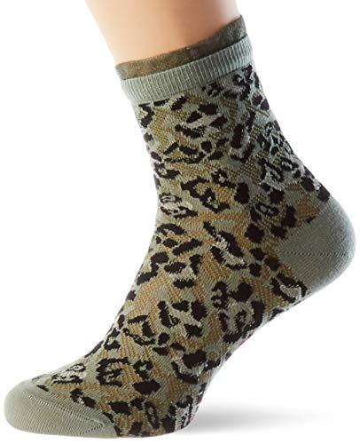 FALKE Damen Wild Beauty W ShS Lässige Socken, Grün (green 7130), 35-38