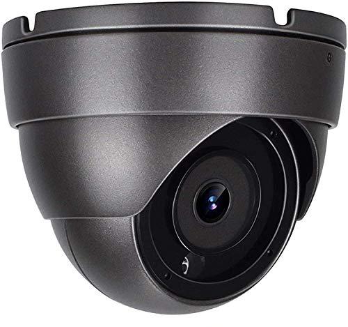 Anpviz 5MP PoE CCTV IP Dome Kamera mit eingebautem Mikrofon,IP Sicherheitskamera, Nachtsicht bis zu 30m,wetterfest gemäß IP66,Außenbereich,ONVIF kompatibel,2.8mm Weitwinkel Objektiv,Bewegungserkennung