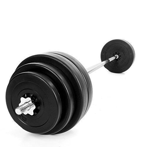 TnP Accessories. 60KG Barbell Set Weight Workout Weights Sets Bar Bicep Tricep Gym Bar Sets