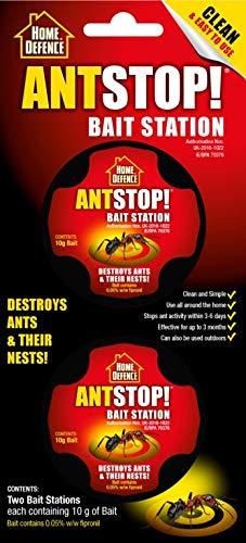Home Defence Estación de cebo, destruye hormigas y sus nidos contiene fipronil (2)