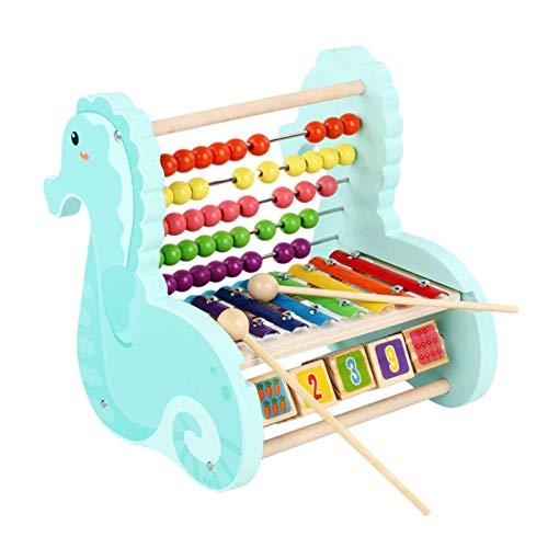 Jouet De Musique Xylophone 8 Notes, Instruments De Musique En Bois Pour Bébé Xylophone Avec...