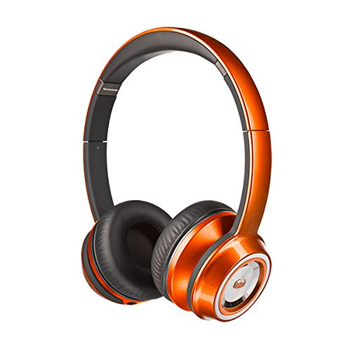 Monster NTune On-Ear Headphones - Candy Tangerine