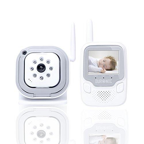 Duronic B101W Baby monitor audio video digitale baby...