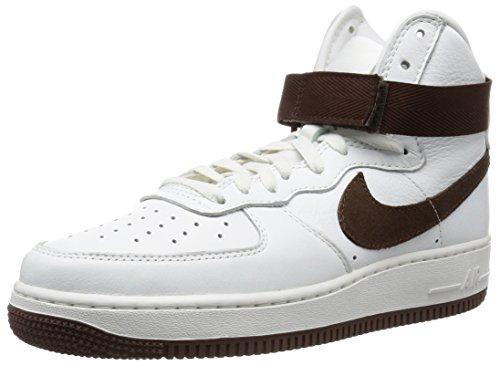 Nike Herren Air Force 1 HI Retro QS Handballschuhe, weiß braun Gipfel Weiße Schokolade, 40 EU