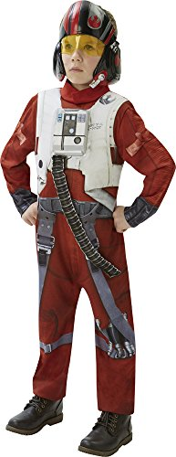 Rubie's-déguisement officiel - Star Wars-Déguisement enfant Luxe Poe XWing Fighter Star Wars VII- CS820265/XXL