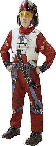 Star Wars - Disfraz de Xwing Fighter Deluxe para niños, talla XL infantil 9-10 años (Rubie's 620266-XL)