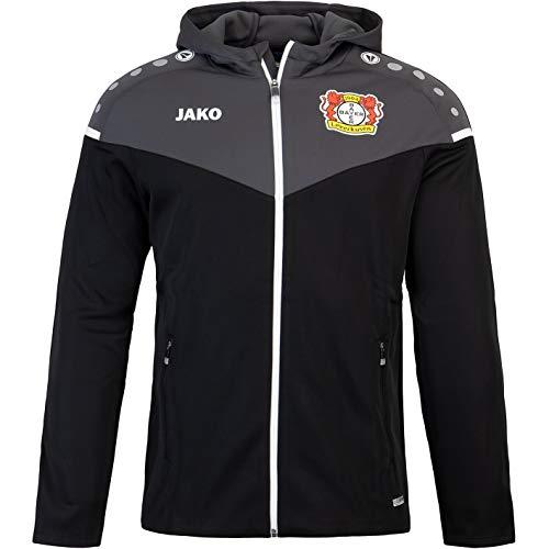 JAKO Bayer 04 Leverkusen Training Kapuzenjacke Jacke (M, Black)