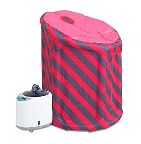 Home Adult Therapeutic Mobile Faltdampf Sauna Raumzelt Tragbare Ganzkörper-Begasungsmaschine 2L Schweißdampfbox Zum Verbrennen Von Fett,1.5 Liter