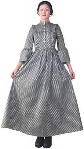 Loli Miss Women Vintage Pioneer Costume Colonial Prairie Dress Civil War Dresses XX Large product image