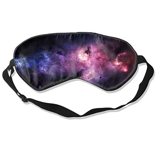 Schlafmaske, Augenbinde, super glatte Augenmaske, Weltraum, Galaxie, Kosmos Universum