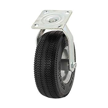 Marathon 8  Swivel Caster with Flat Free Tire