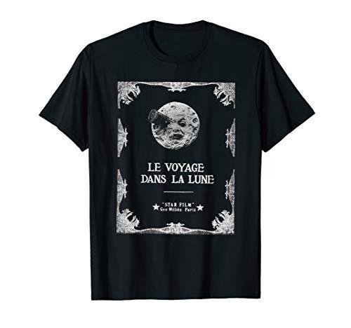 A Trip to the Moon ( Le Voyage dans la Lune) Classic Movie T-Shirt
