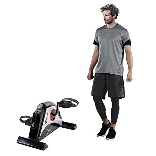 Christopeit Sport Mini-Bike MB 3 – Heimtrainer für Arm- und Beintraining, Pedaltrainer mit verstellbarem Widerstand