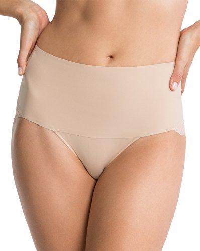 Spanx SP0415 Braguitas Moldeadoras, Beige (Nude Nude), 42 (Herstellergröße: X-Large) para Mujer