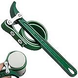 Llave de Correa Filtro Aceite, Ajustable Llave Filtro Aceite Tipo Cinta para Rreparación de Automóviles de Tapas - 9 Pulgadas, Verde