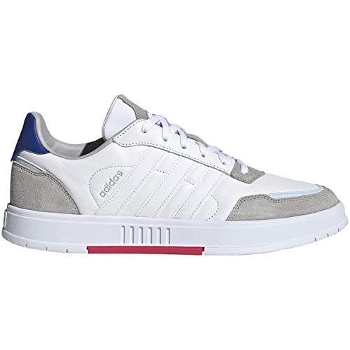adidas Courtmaster Shoe - Men's Casual White/Power Pink