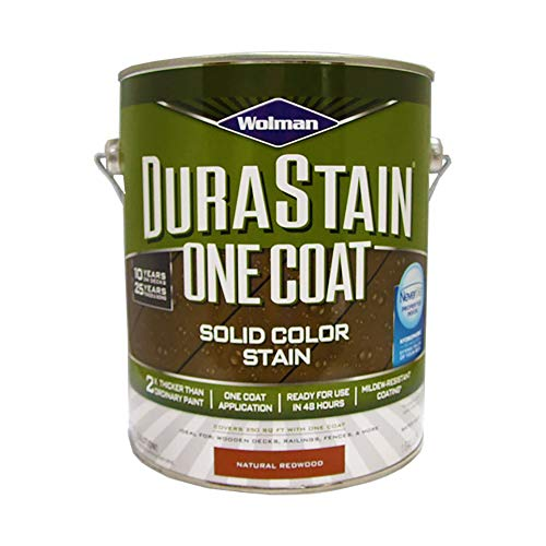 Wolman 288092 Durastain One Coat Solid Color Natural Redwood gal