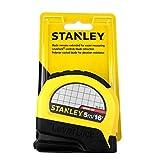 Stanley Tools - Cinta métrica de bloqueo automático, amarillo