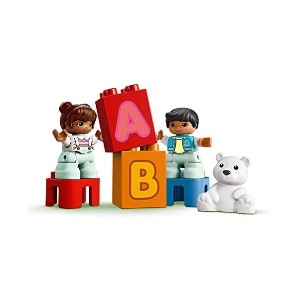 LEGO DUPLO My First - Camión del Alfabeto, Juguete de Construcción de Vehículo para Aprender el Abecedario, Juguete…
