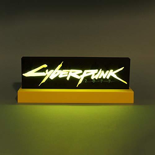 Cyberpunk 2077 22cm Logo Lampe