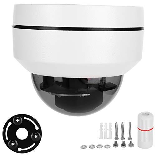 DAUERHAFT Cámara con Zoom óptico 5X Cámara de Seguridad con detección de Movimiento IP66 Cámara IP Impermeable Seguridad en el hogar para Seguridad