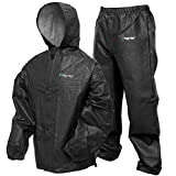 Frogg Toggs Men's Pro Lite Waterproof Rain Suit, Carbon Black, X-Large/XX-Large