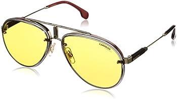Carrera Glory Yellow Aviator Unisex Sunglasses