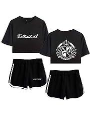 Dames Zomer Pyjama Tweedelig Set korte broek en t-shirt Danganronpa Monokuma